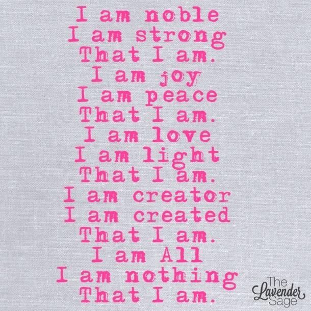 I am Noble