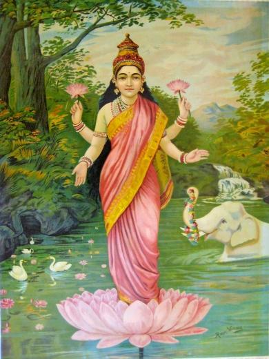 Lakshmi_by_Raja_Ravi_Varma